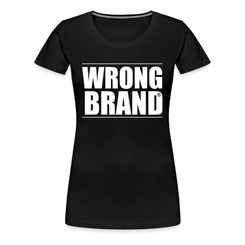 Wrong Brand: the ultimate brand parody - Women's Premium T-Shirt