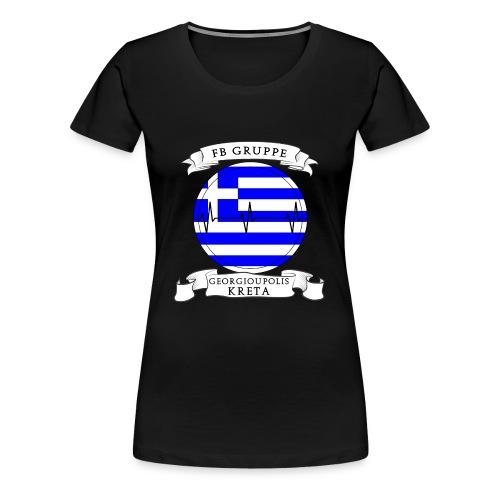 Georgioupolis/Kreta Motiv 1 - Frauen Premium T-Shirt