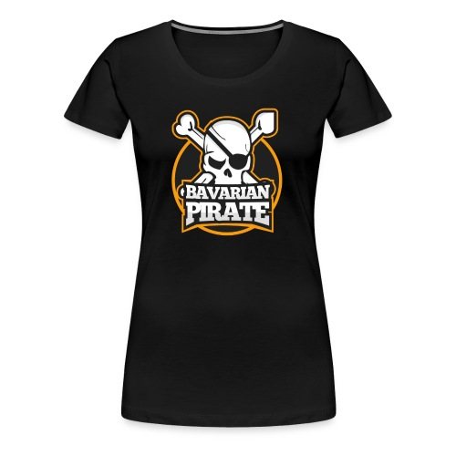 Pirate Logo - Frauen Premium T-Shirt