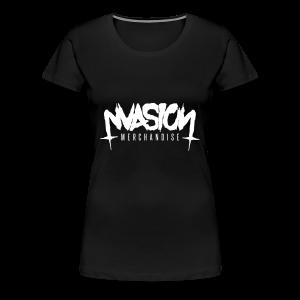 Logo white vec - Women's Premium T-Shirt