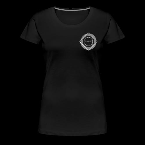 Logo P33JAY - Maglietta Premium da donna