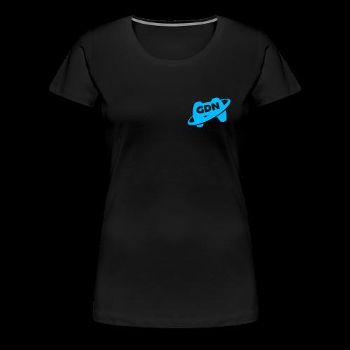 Game Dev Network: Blue - Women's Premium T-Shirt