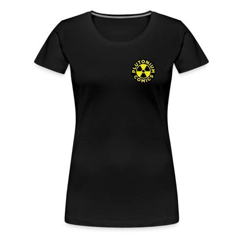 Plutonium comics logo - Premium-T-shirt dam