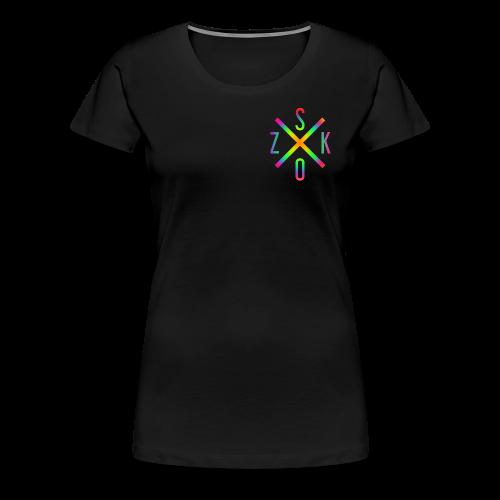 SK X OZ // COLOUR - Frauen Premium T-Shirt