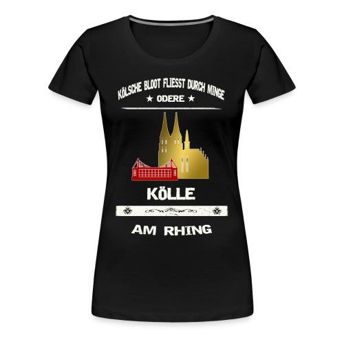 Koelsche Bloot - Köln am Rhein - Frauen Premium T-Shirt