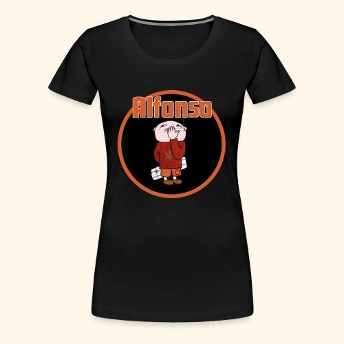Alfonso - Premium-T-shirt dam