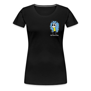hana-chan ✻ blue yellow white - Women's Premium T-Shirt