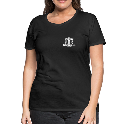 Baroque Records Logo Small - Frauen Premium T-Shirt