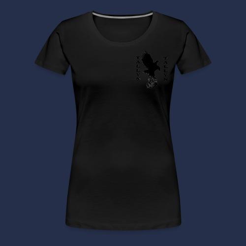 Double Tallyn logo - Women's Premium T-Shirt