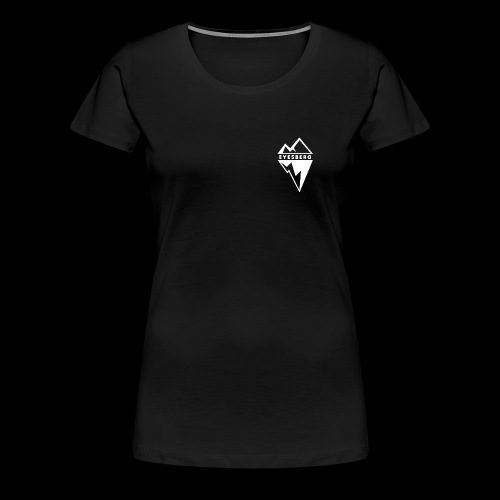 Eyesberg Tshirt Noir - T-shirt Premium Femme