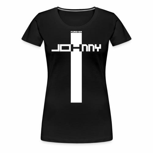JOHNNY FOREVER - T-shirt Premium Femme