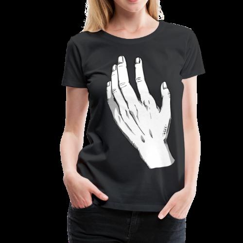 SAFE (male hand) - Camiseta premium mujer
