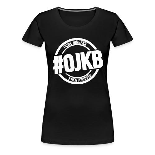 OJKB Witte Opdruk - Vrouwen Premium T-shirt