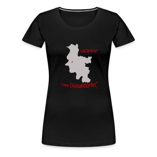 Duesseldorf meine Heimat - Frauen Premium T-Shirt