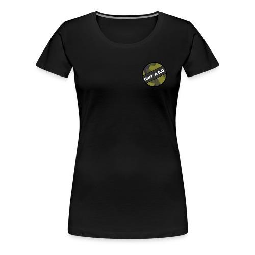 UnitASG badge - Premium-T-shirt dam