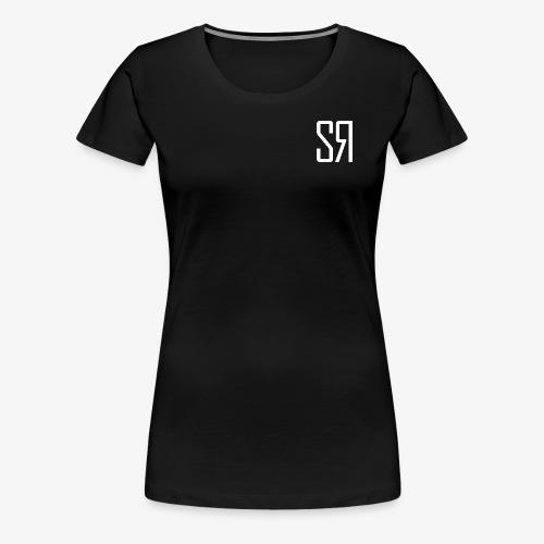 White badge (No Background) - Women's Premium T-Shirt