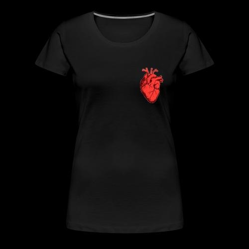Red Heart - T-shirt Premium Femme