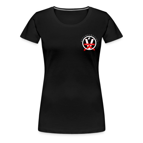 Logo Teamkaraviet T-shirt Devant - T-shirt Premium Femme
