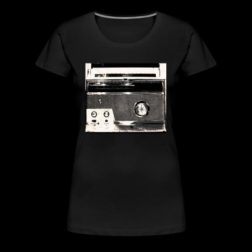 Radio Street Wear Design - Frauen Premium T-Shirt