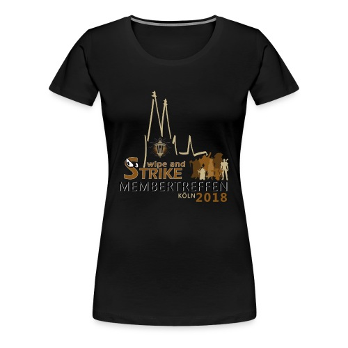 WaS-Membertreffen 2018 - Frauen Premium T-Shirt