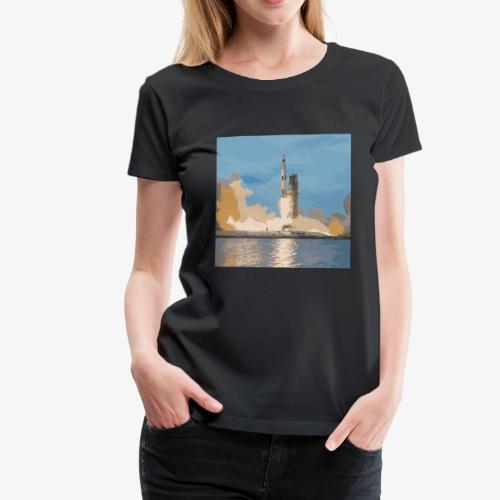 Saturn V - Rakete - Skylab - Frauen Premium T-Shirt
