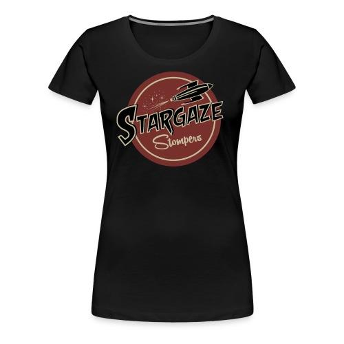T Shirt Farbe Stargaze Stompers - Frauen Premium T-Shirt