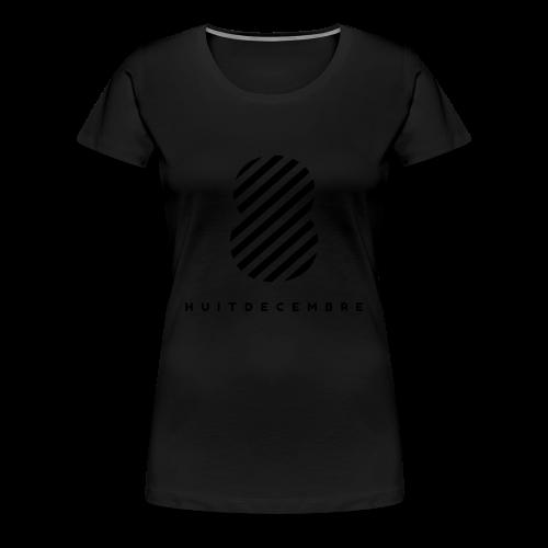 08/12 - T-shirt Premium Femme
