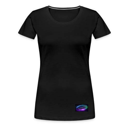 Small Bottom logo - Women's Premium T-Shirt
