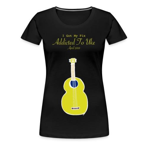 Addicted To Uke Spring 2018 Souvenir - Women's Premium T-Shirt