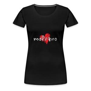 Amo Malegno - Maglietta Premium da donna