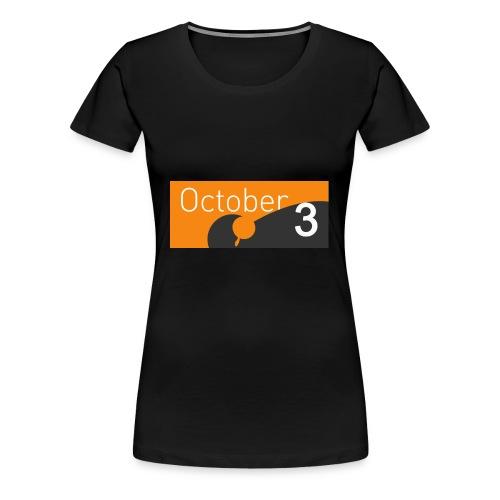 October3 - T-shirt Premium Femme