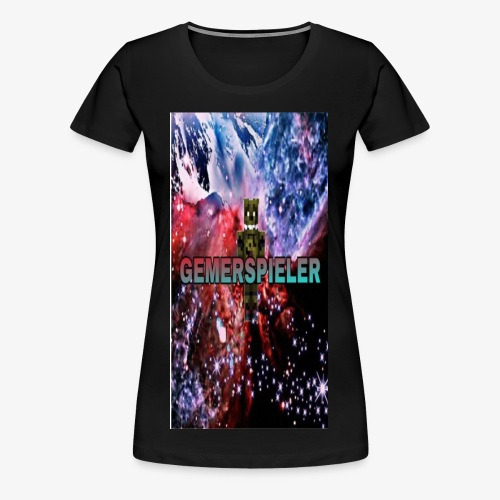 Gemerspieler Design - Frauen Premium T-Shirt