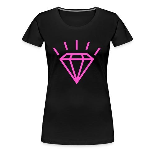 Diamant - T-shirt Premium Femme