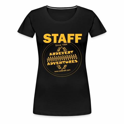logo ardevert staff - T-shirt Premium Femme