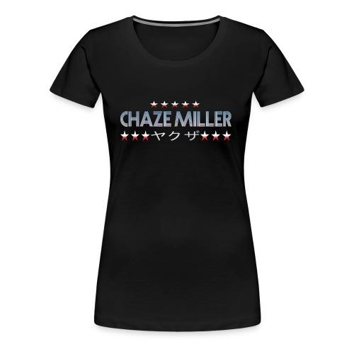 Chaze Miller Yakuza - Frauen Premium T-Shirt