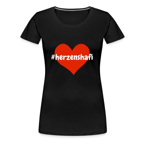 Herzenshafi - Frauen Premium T-Shirt
