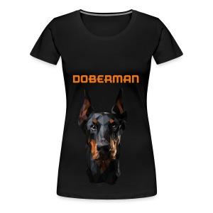DOBERMAN - Vrouwen Premium T-shirt