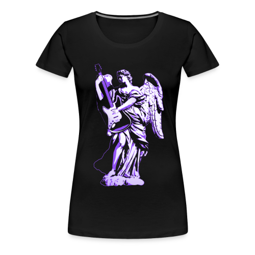 Engel 2018 paars - Vrouwen Premium T-shirt