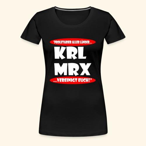 Karl Marx - Frauen Premium T-Shirt