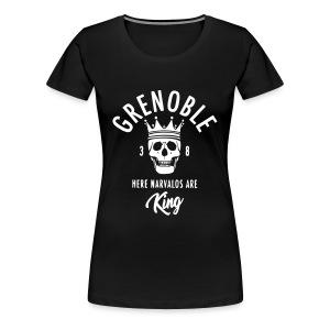 grenoble narvalo - T-shirt Premium Femme