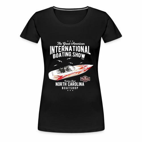 Boating yacht - Frauen Premium T-Shirt