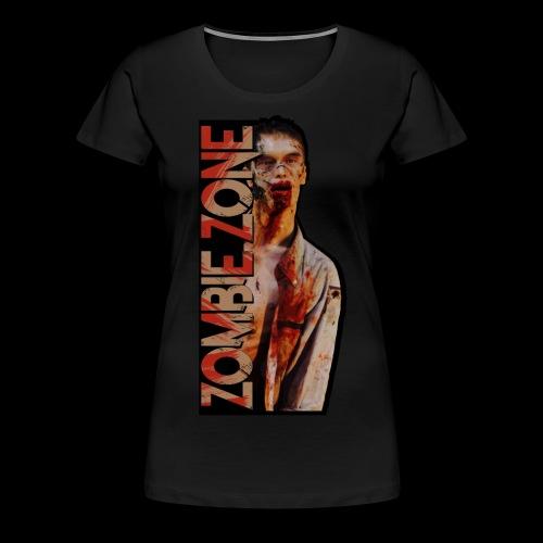 ZOMBIE ZONE - Frauen Premium T-Shirt