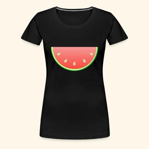 Melone - Frauen Premium T-Shirt