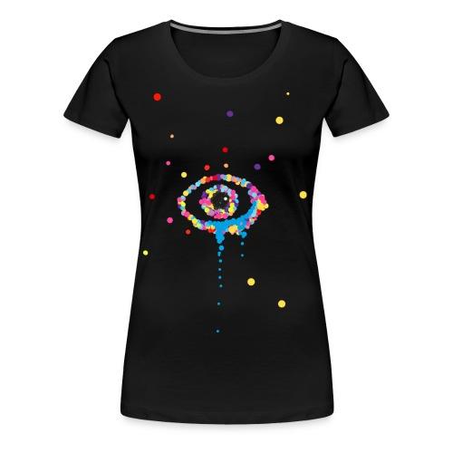 Tänen in den Augen - Frauen Premium T-Shirt