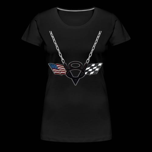 CoBF V8 Kette - Frauen Premium T-Shirt