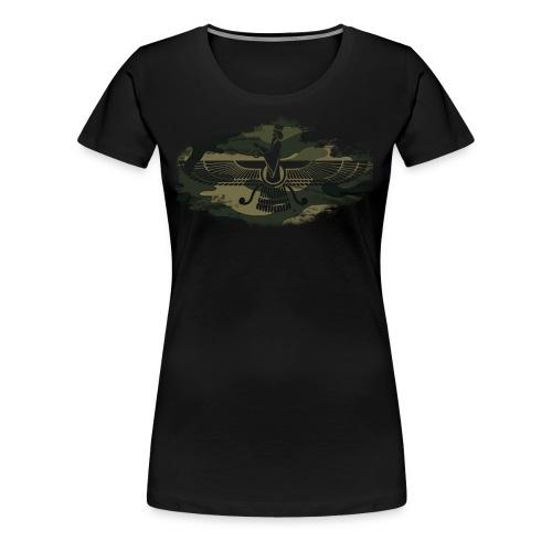 Farvahar Camouflage - Frauen Premium T-Shirt