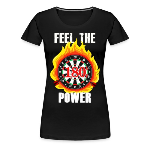 Darts - Frauen Premium T-Shirt