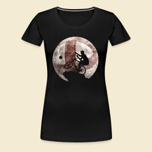 Radball | Moon - Frauen Premium T-Shirt