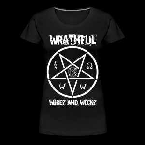 Wrathful Wirez PentaWrath - Women's Premium T-Shirt
