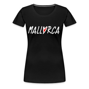 Mallorca Love Herz - Dream of Mallorca - Frauen Premium T-Shirt